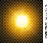 glow light effect. star burst...   Shutterstock .eps vector #638671876