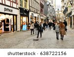 rouen  france   november 26... | Shutterstock . vector #638722156