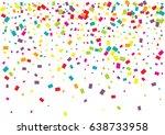 festive colorful rectangle... | Shutterstock .eps vector #638733958