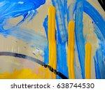 mixed media   art   multicolor ... | Shutterstock . vector #638744530