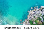 sea and the beach | Shutterstock . vector #638753278