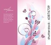 Floral Background. Eps10.