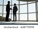 young entrepreneurs discussing...   Shutterstock . vector #638770990