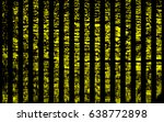line yellow and black color... | Shutterstock .eps vector #638772898