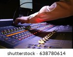 Small photo of Sound mixing board