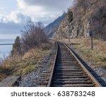 the baikal lake single track... | Shutterstock . vector #638783248