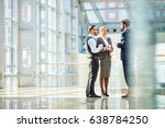 group of modern business people ... | Shutterstock . vector #638784250