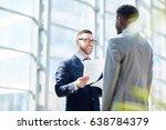 portrait of successful... | Shutterstock . vector #638784379