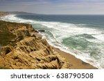 california coastline north of... | Shutterstock . vector #638790508