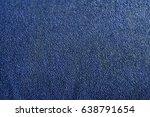 dark blue texture of coarse...   Shutterstock . vector #638791654
