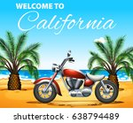 welcome to california poster... | Shutterstock .eps vector #638794489