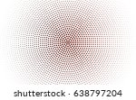 light pink  red vector pattern... | Shutterstock .eps vector #638797204