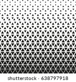 black   white geometric pattern | Shutterstock .eps vector #638797918