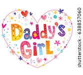 daddy's girl decorative...