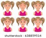 vector cartoon image of a set... | Shutterstock .eps vector #638859514