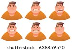 vector cartoon image of a set... | Shutterstock .eps vector #638859520