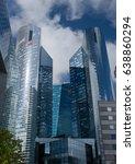 paris  france   sep 20  view of ... | Shutterstock . vector #638860294