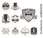 vintage style design hipster... | Shutterstock .eps vector #638863039