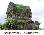 ancient cham city state | Shutterstock . vector #638864998