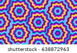 colorful seamless pattern with... | Shutterstock .eps vector #638872963