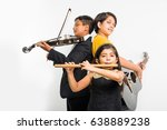 kids and music concept   cute... | Shutterstock . vector #638889238