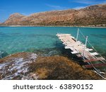Coast Of Balos Bay In Crete...