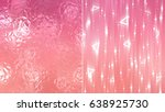 set 2 of red abstract... | Shutterstock . vector #638925730