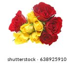 Stock photo bouquet of rose 638925910