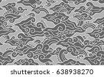 batik painting of java... | Shutterstock .eps vector #638938270