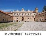 certosa di san lorenzo.padula... | Shutterstock . vector #638944258