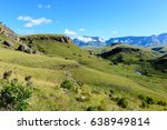 South Africa Drakensberge Colo...