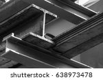 steel beams | Shutterstock . vector #638973478