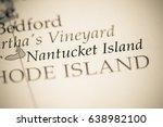 nantucket island  usa | Shutterstock . vector #638982100