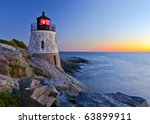 Beautiful Lighthouse By The...