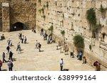jerusalem  israel   may 09 ... | Shutterstock . vector #638999164