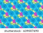 raster illustration. spring...   Shutterstock . vector #639007690