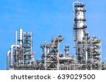 industrial zone the equipment... | Shutterstock . vector #639029500