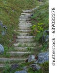 The Old Stone Steps On A Hill...