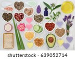 beauty treatment products for... | Shutterstock . vector #639052714