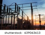 electricity authority station ... | Shutterstock . vector #639063613