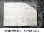 fishing nets still life on the... | Shutterstock . vector #639064318