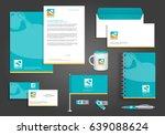 vector milk  yogurt or cream...   Shutterstock .eps vector #639088624