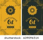 set of two vector labels for... | Shutterstock .eps vector #639096514