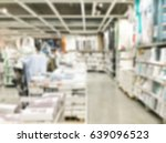 abstract blur shopping mall and ... | Shutterstock . vector #639096523