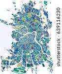 vector map saint petersburg ... | Shutterstock .eps vector #639116230