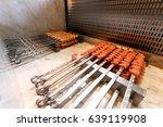 raw kebab   Shutterstock . vector #639119908