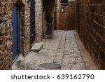 stone old city jaffa in tel aviv | Shutterstock . vector #639162790