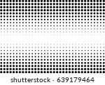 abstract halftone dotted... | Shutterstock .eps vector #639179464