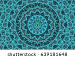 abstract colorful painted... | Shutterstock . vector #639181648