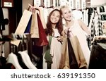 two young  beauty girls... | Shutterstock . vector #639191350